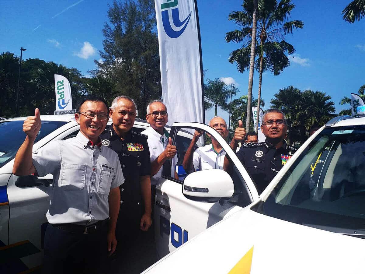 Management PDRM with Mitsubishi's Management   Mitsubishi Motors Malaysia