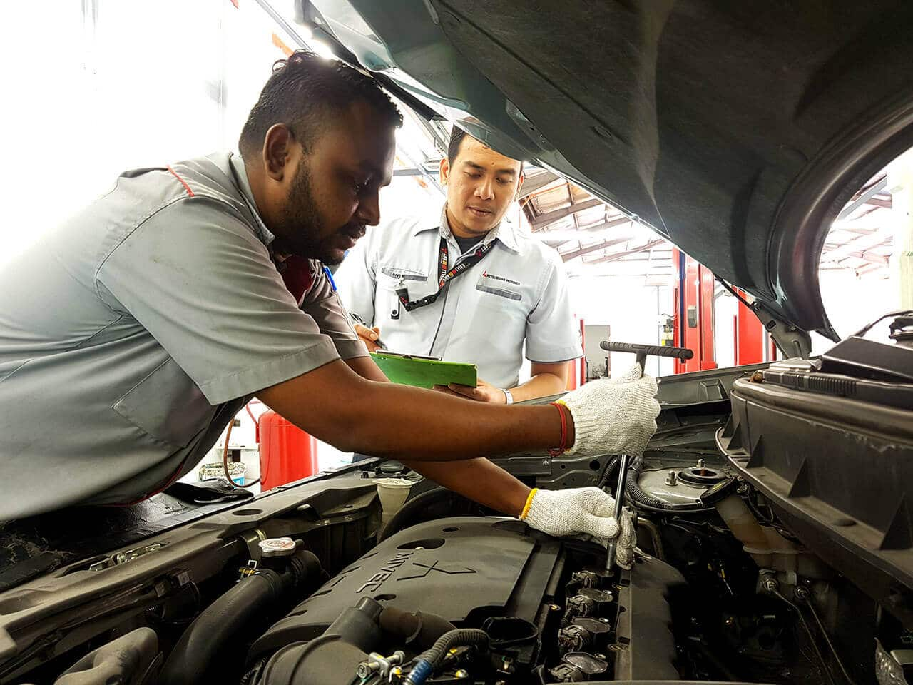 Study on Overall Satisfaction for Maintenance Repair Work | Mitsubishi Motors Malaysia