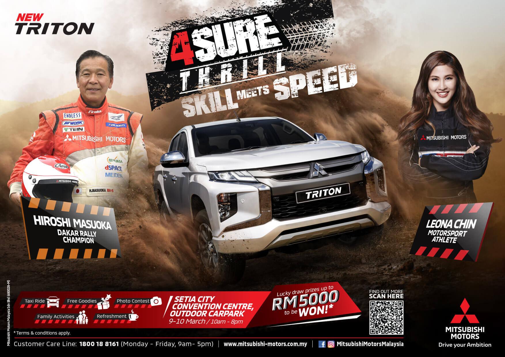 4Sure event Setia City | Mitsubishi Motors Malaysia