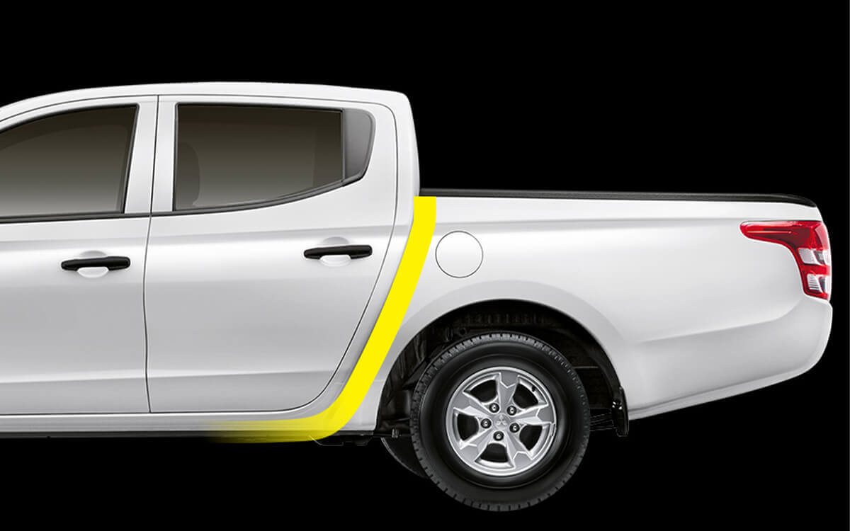 Mitsubishi Triton Quest J-Line Exterior Design | Mitsubishi Motors Malaysia