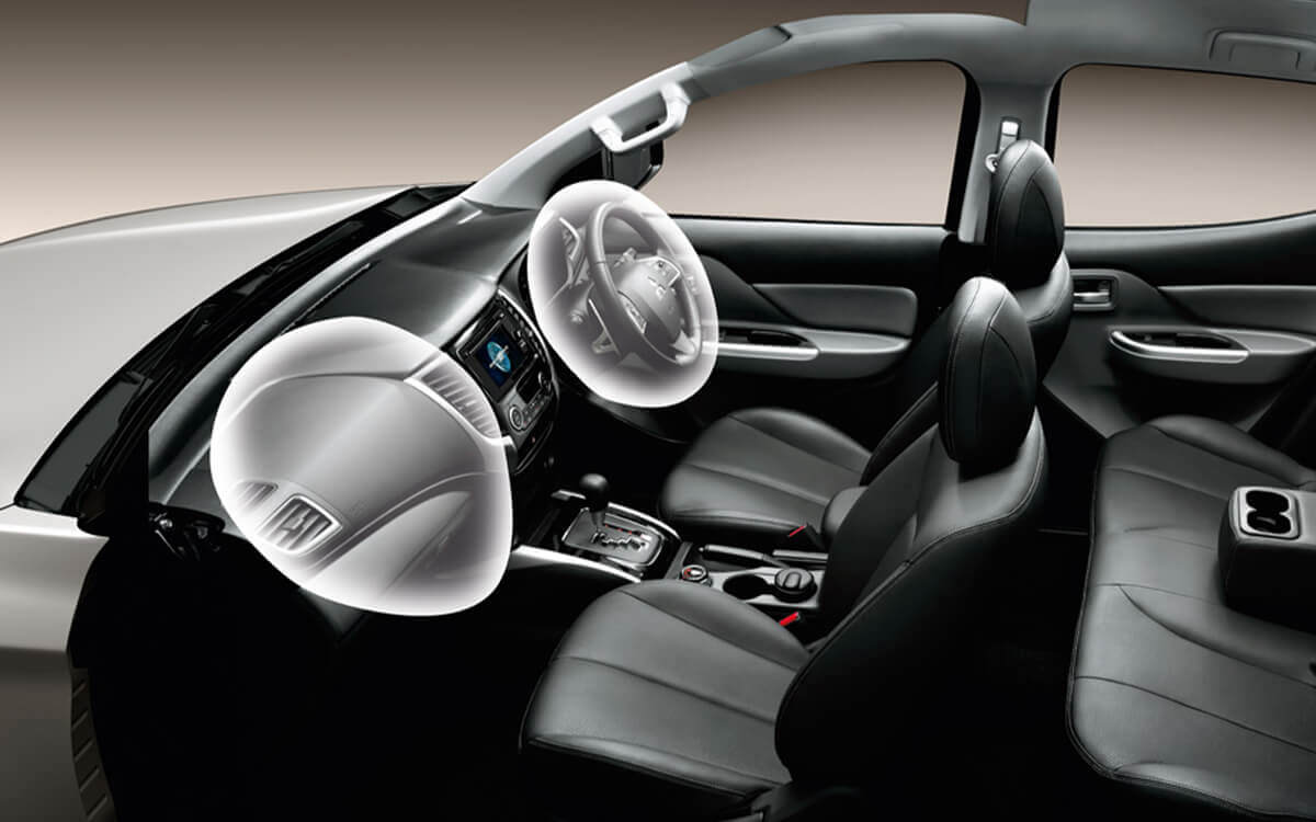 Triton Quest SRS Airbag for Safety Features | Mitsubishi Motors Malaysia