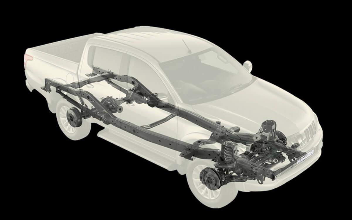 Triton Quest Improved Chasis Technology   Mitsubishi Motors Malaysia