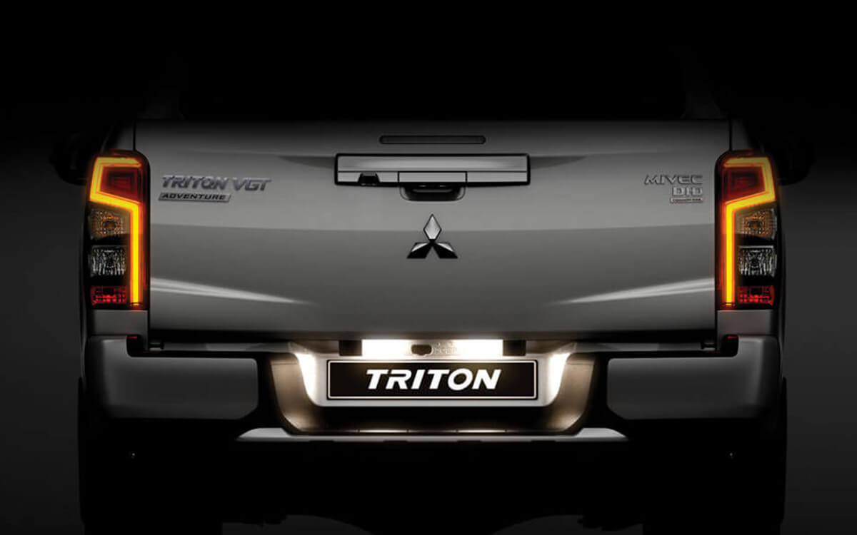 Triton 4x4 Distinctive LED Rear | Mitsubishi Motors Malaysia