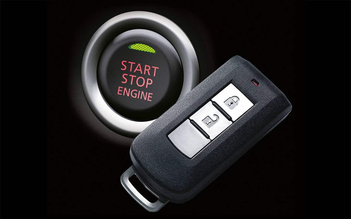 Mitsubishi ASX Push Start Button | Mitsubishi Motors Malaysia