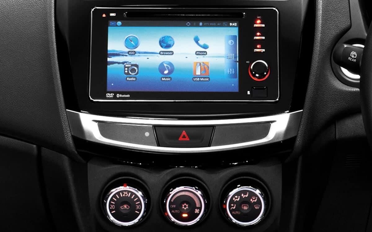 Mitsubishi ASX Audio, Navigation & Reverse Camera | Mitsubishi Motors Malaysia