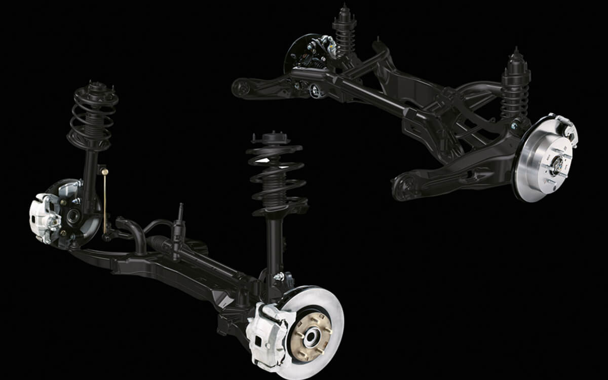 Mitsubishi ASX Independent Suspension System | Mitsubishi Motors Malaysia