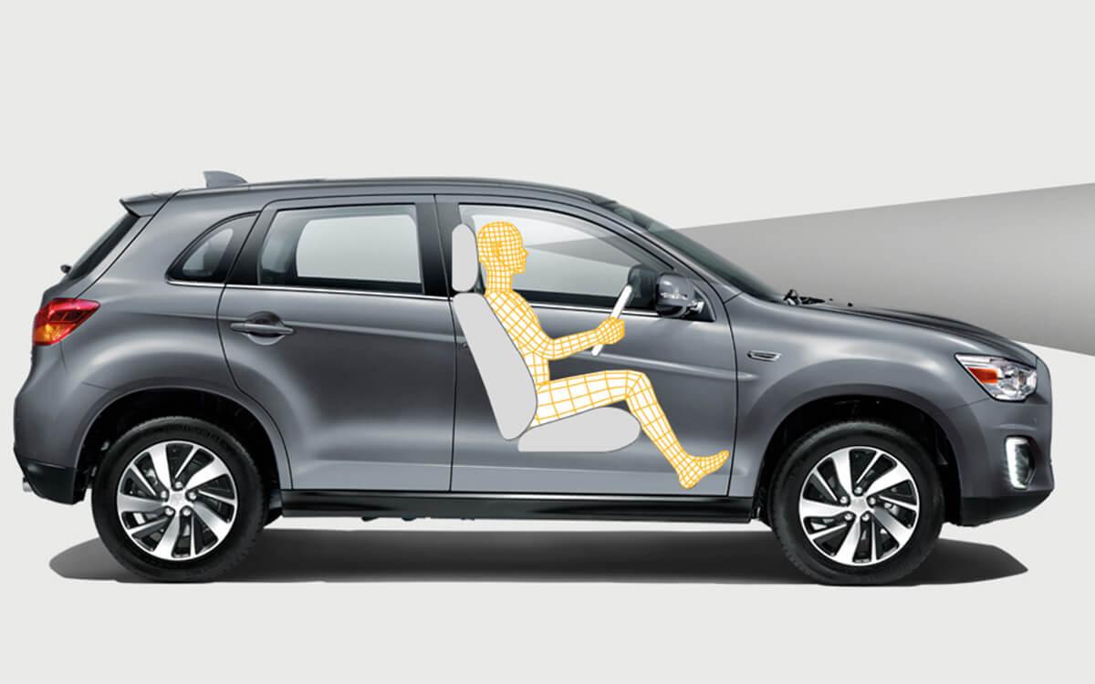Mitsubishi ASX Agronomic Driving Position | Mitsubishi Motors Malaysia