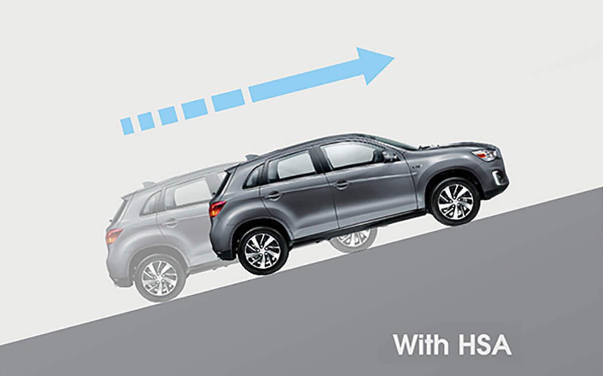 ASX Technology Hill Start Assist HSA | Mitsubishi Motors Malaysia