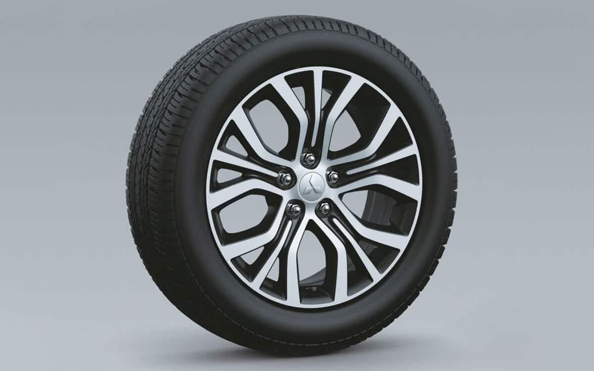 Outlander 18' Dual Tone Allow Wheels Design | Mitsubishi Motors Malaysia