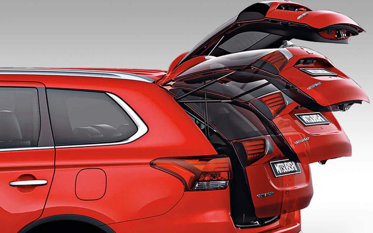 Mitsubishi Electronic Tailgate Anti Pinch | Mitsubishi Motors Malaysia