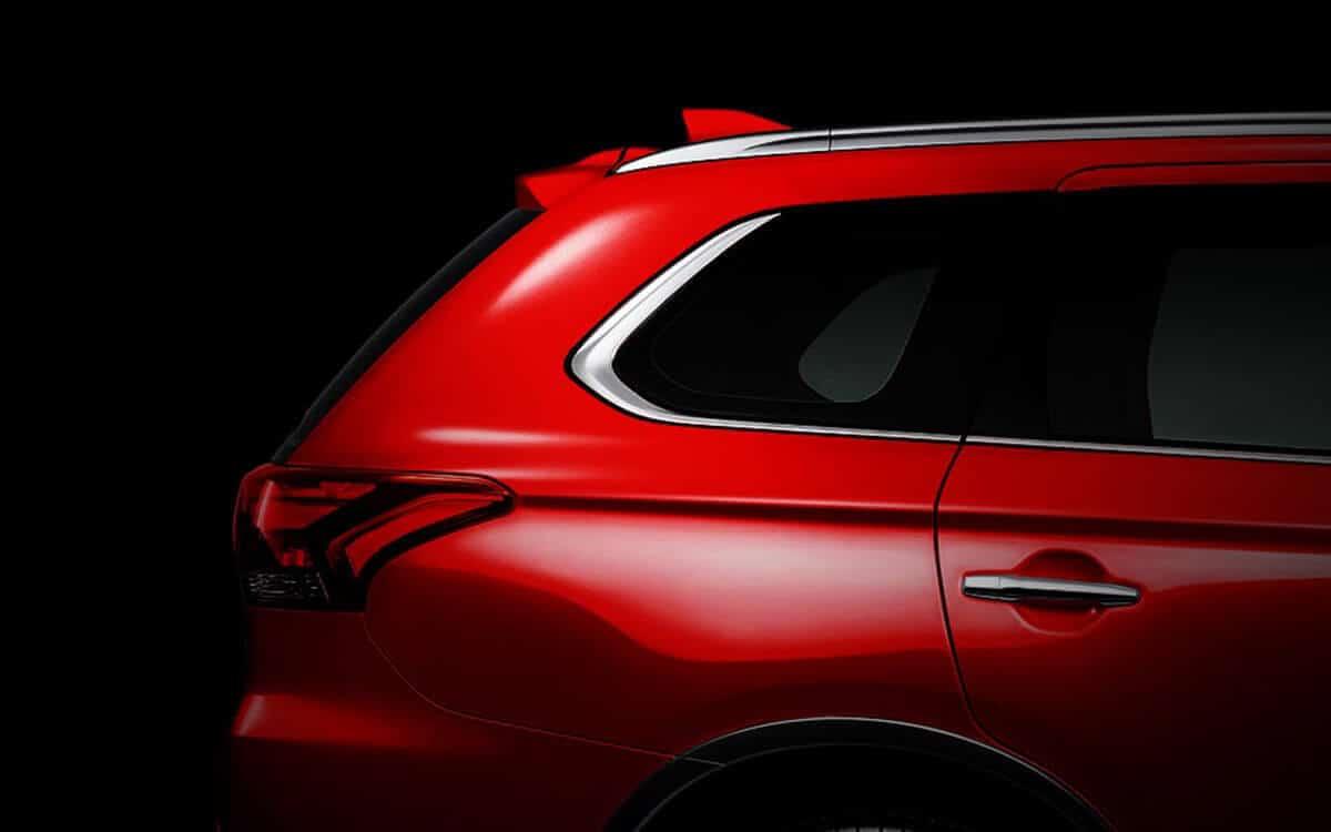 Outlander Shark Fin (Red) | Mitsubishi Motors Malaysia