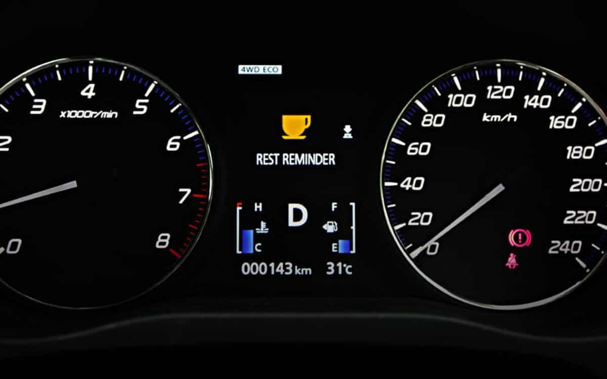 Mitsubishi Outlander Rest Reminder | Mitsubishi Motors Malaysia