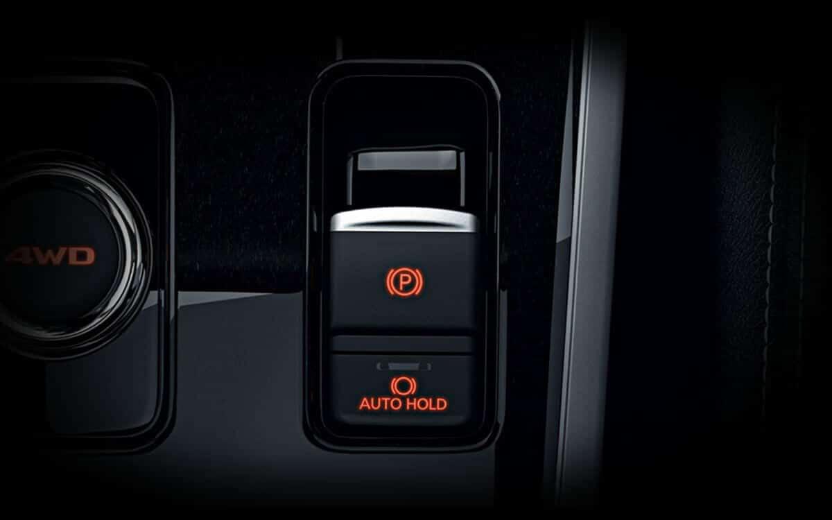 Mitsubishi Outlander Electronic Parking Brake & Auto Hold Assist | Mitsubishi Motors Malaysia