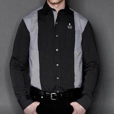 Ralliart Shirt Black and Silver | Mitsubishi Motors Malaysia