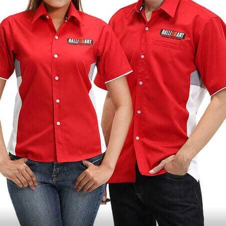 Ralliart Corporate Shirt (Red) | Mitsubishi Motors Malaysia