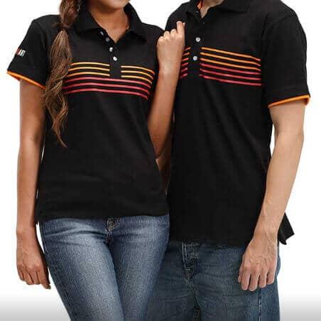 Ralliart Shirt With Strip (Black) | Mitsubishi Motors Malaysia