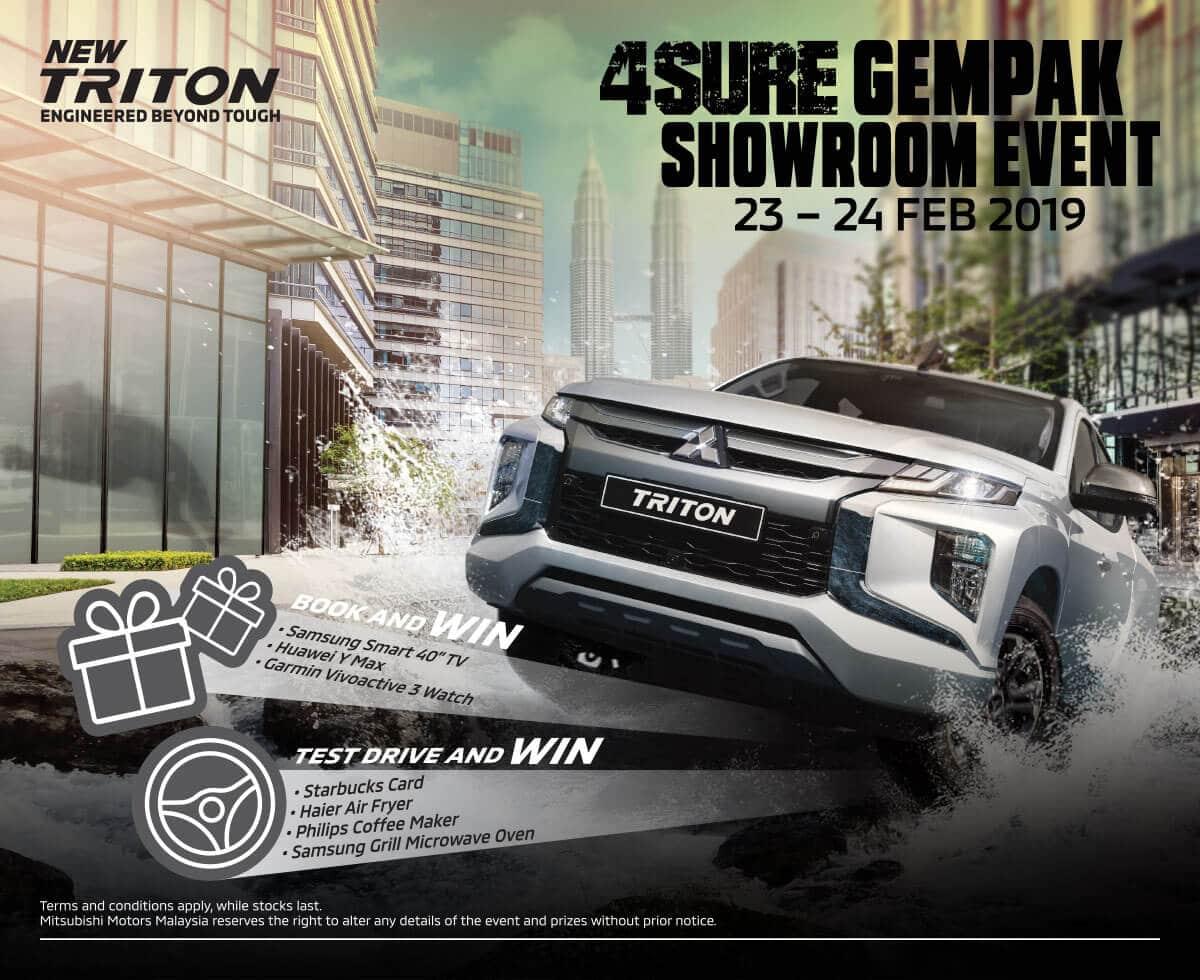 Triton 4Sure Gempak Event Feb | Mitsubishi Motors Malaysia