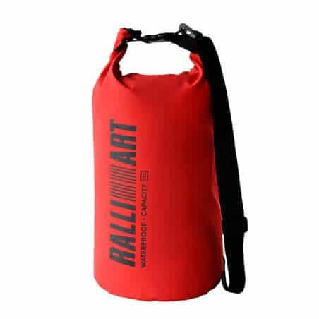 Ralliart Waterproof Dry Bag (Red) | Mitsubishi Motors Malaysia
