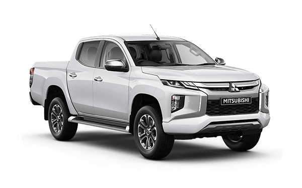 Triton 4x4 White Right Front View | Mitsubishi Motors Malaysia