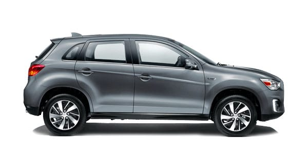 Mitsubishi ASX Side View Model | Mitsubishi Motors Malaysia