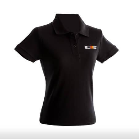 Ralliart Black Polo Tshirt Female | Mitsubishi Motors Malaysia