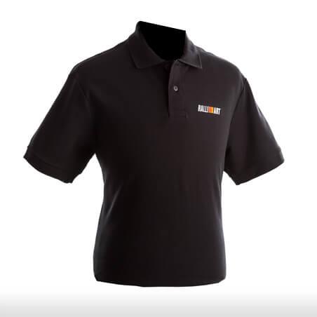 Ralliart Black Polo Tshirt Male | Mitsubishi Motors Malaysia