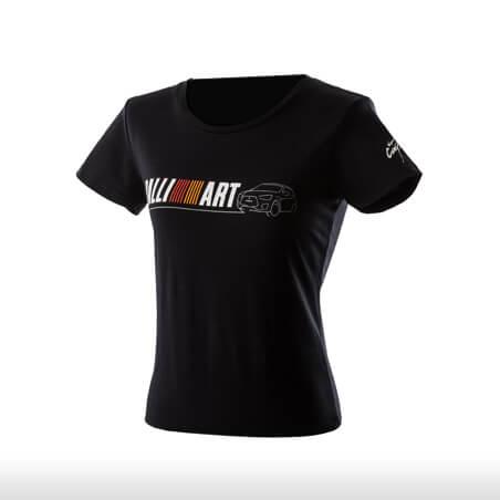 Ralliart Black Round Neck Polo Tshirt Female | Mitsubishi Motors Malaysia