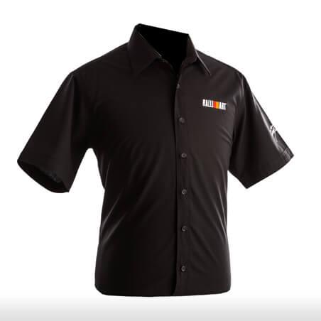 Ralliart Black Shirt Short Sleeve Male | Mitsubishi Motors Malaysia