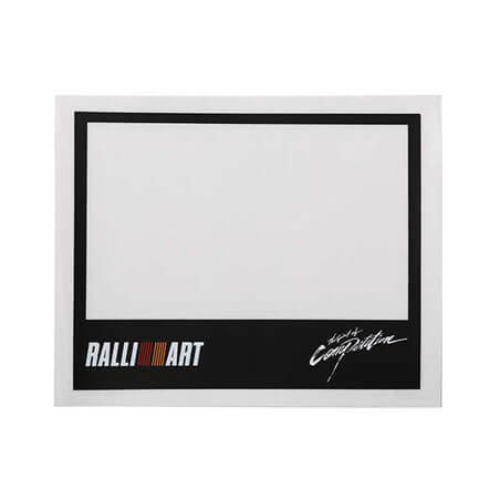 Ralliart Roadtax Sticker | Mitsubishi Motors Malaysia
