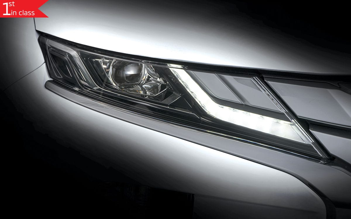 Triton - Bi LED Head Lamp Feature | Mitsubishi Motors Malaysia