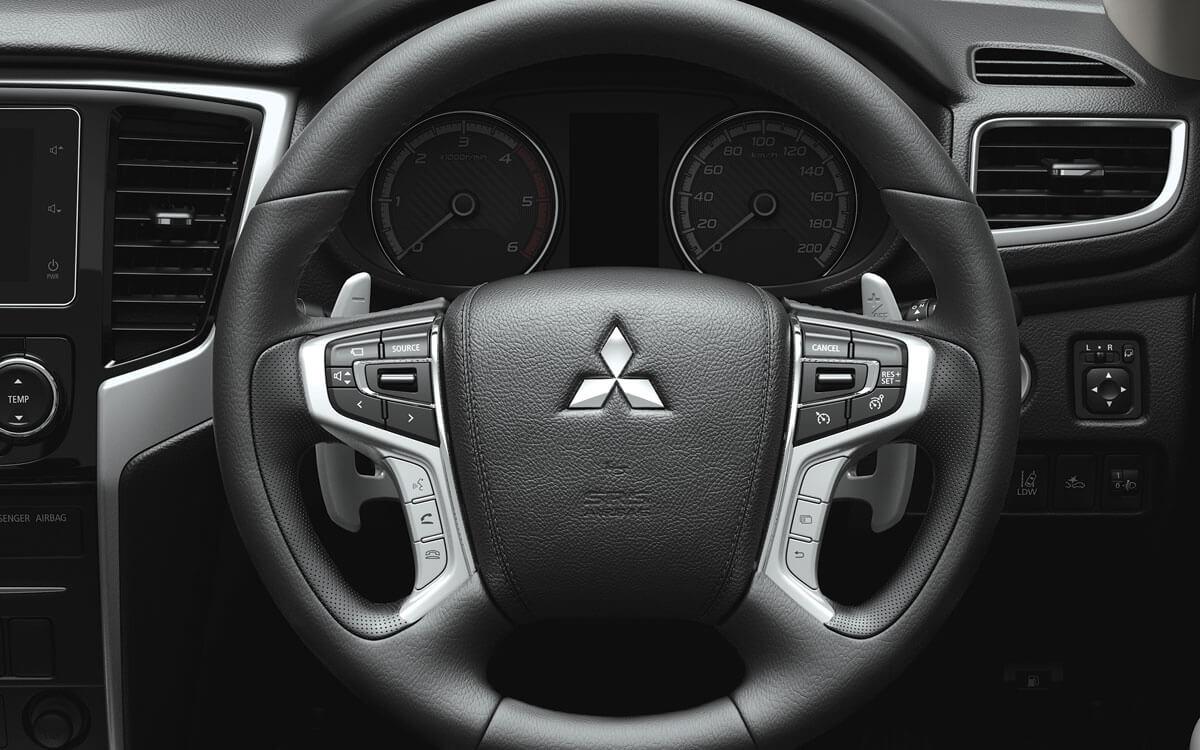 Mitsubishi Interior Design - Steering Wheel | Mitsubishi Motors Malaysia