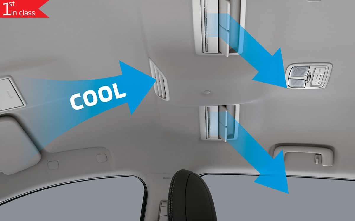 Triton 4x4 Interior Air Circulation | Mitsubishi Motors Malaysia