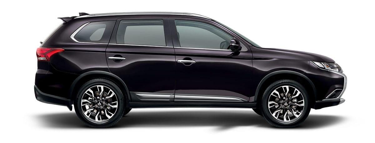 Mitsubishi Outlander 4WD - Black | Mitsubishi Motors Malaysia