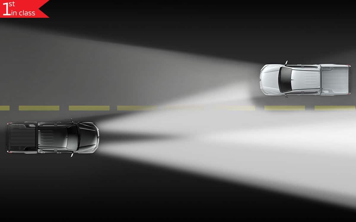 Triton 4x4 Auto High Beam Feature | Mitsubishi Motors Malaysia