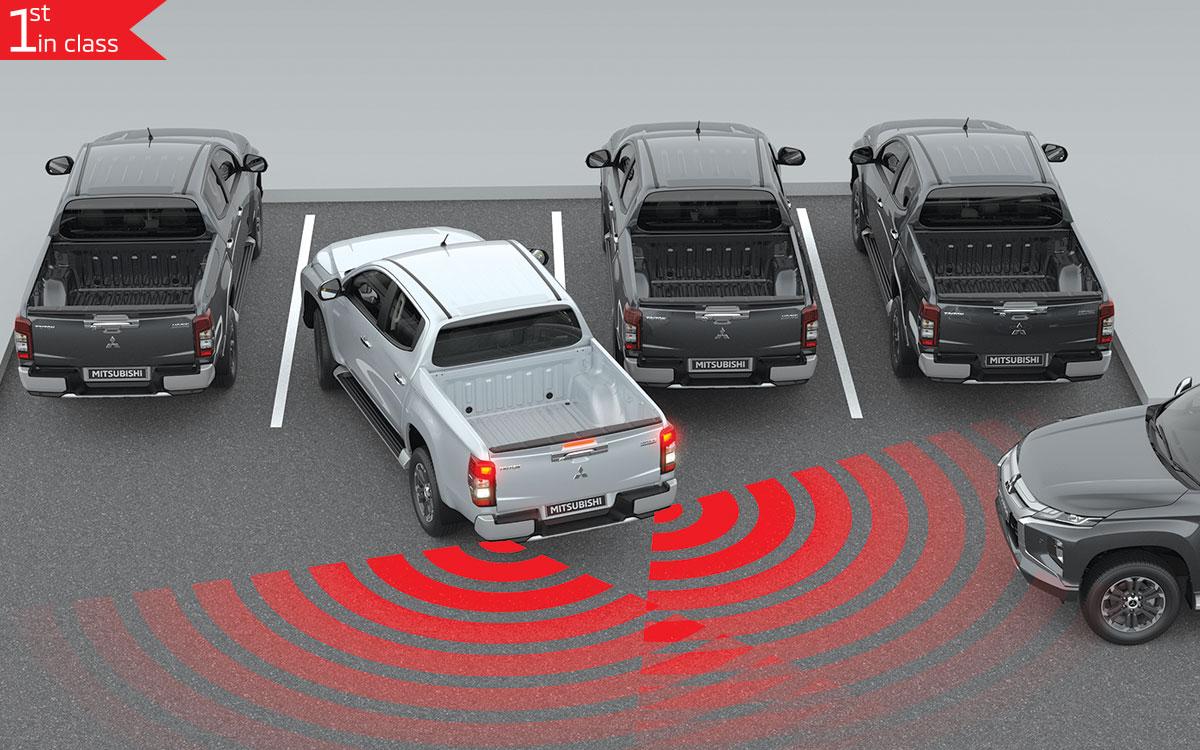 Triton 4x4 Rear Cross Traffic Alert | Mitsubishi Motors Malaysia