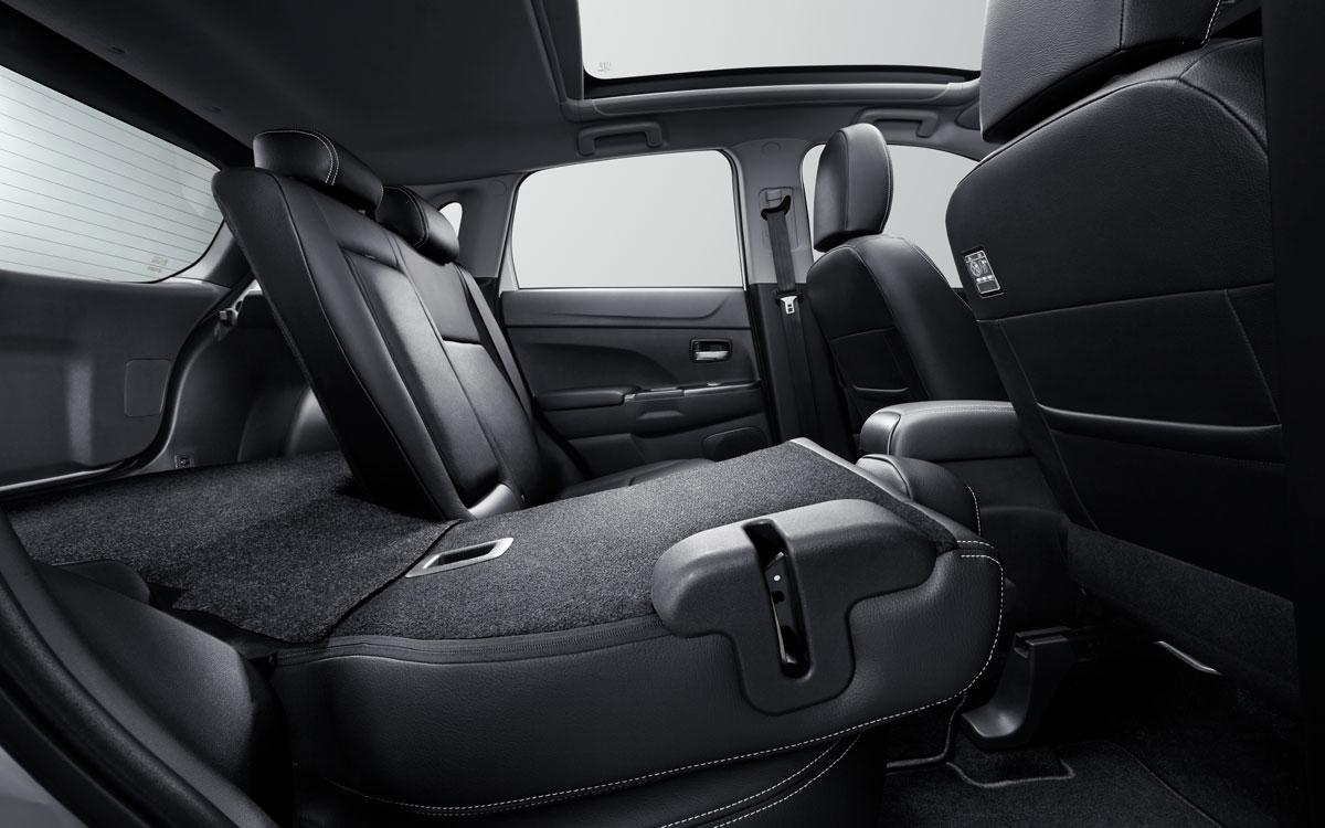 Mitsubishi ASX Foldable Seat Back | Mitsubishi Motors Malaysia