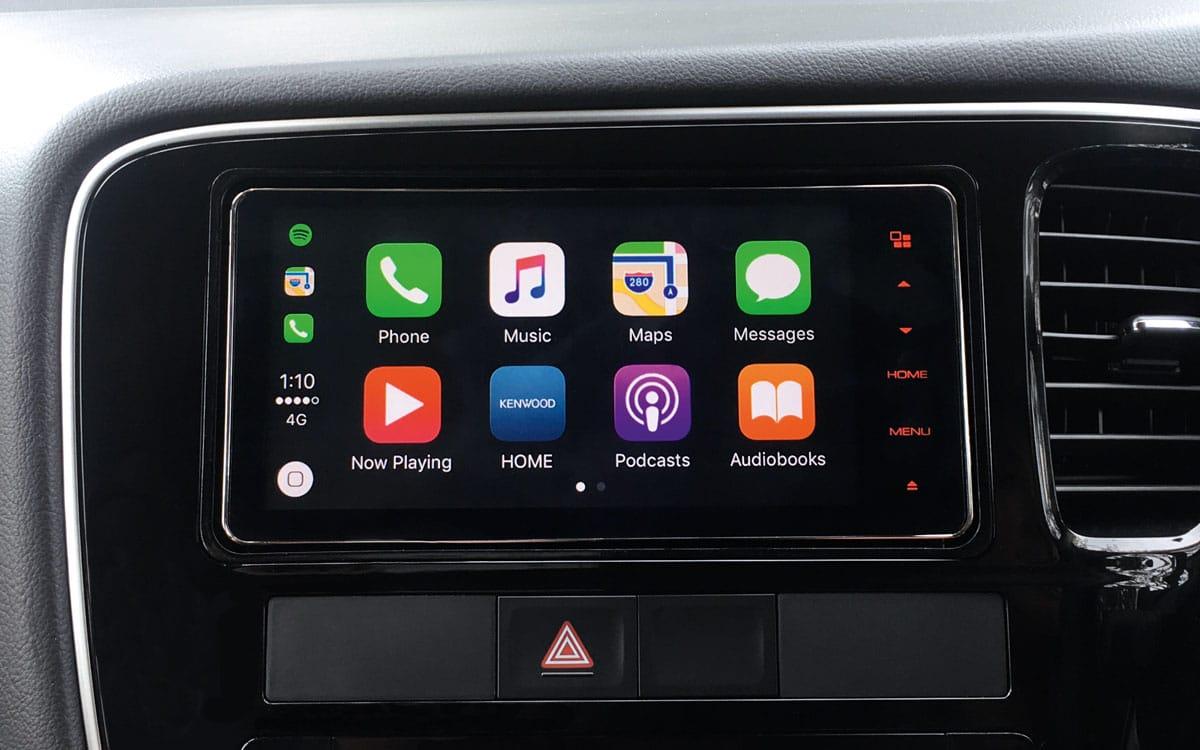 Mitsubishi Outlander Apple Carplay | Mitsubishi Motors Malaysia