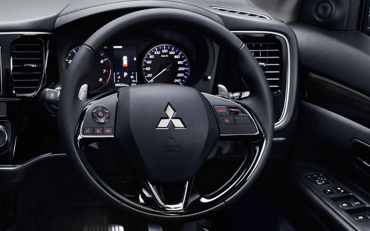 Outlander Steering Wheel | Mitsubishi Motors Malaysia