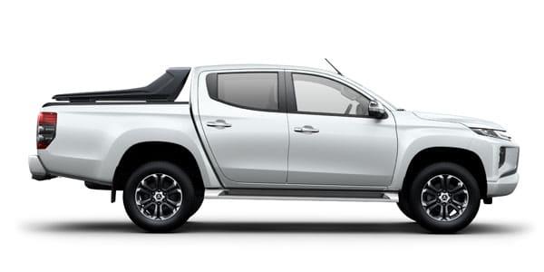 Mitsubishi Triton White - Side View | Mitsubishi Motors Malaysia