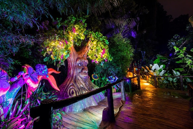 Luminous Forest at Lost World of Tambun | Mitsubishi Motors Malaysia