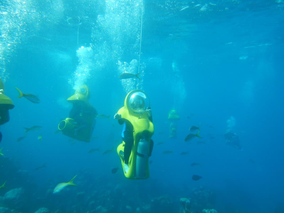 Outdoor Activities Malaysia – Scuba Doo (Underwater Scooter)   Mitsubishi Motors Malaysia