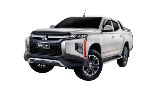 Mitsubishi Triton Knight | Mitsubishi Motors Malaysia - A solid build, the Triton knight is when design meets attitude. Top spec of the Adventure X, this beast is armed with added bumper garnish and hood protectors, appearance that of a beast.
