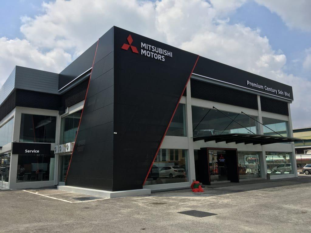 Mitsubishi Motors service centres