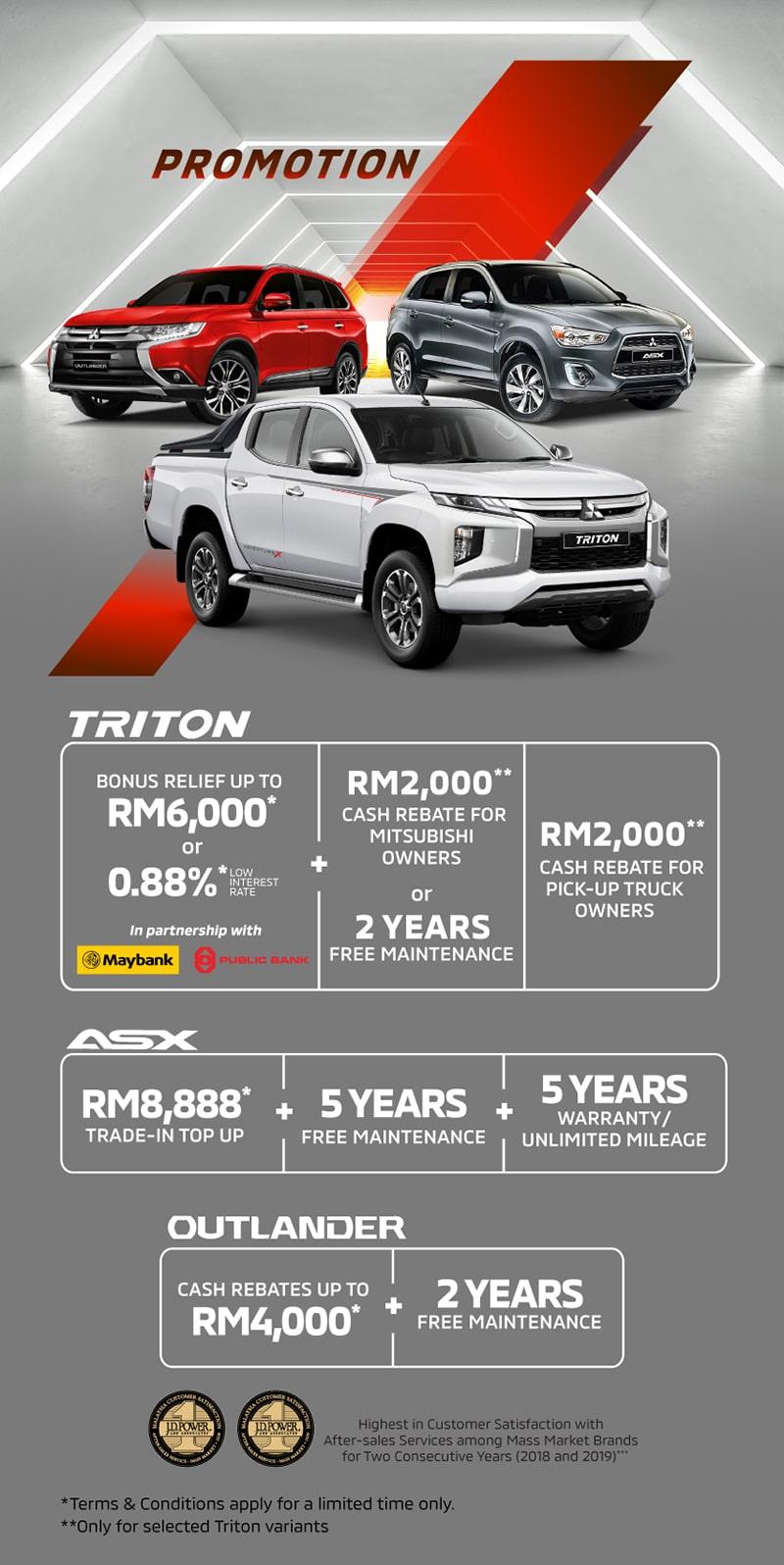 June Promotions Mitsubishi Motors Malaysia