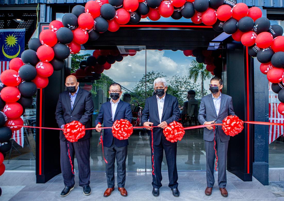 Mitsubishi Motors Dealer Opening