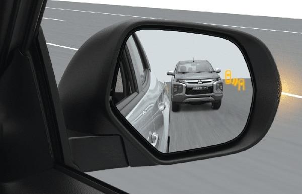 Blind Spot Warning with Lane Change Assist