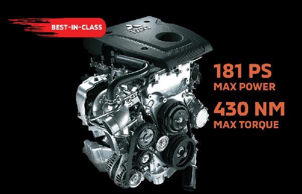 MIVEC Turbo Diesel Engine