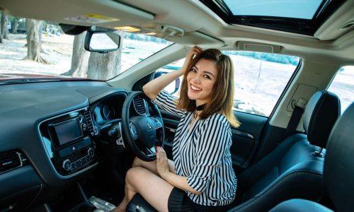 Beach Trip Artist with Outlander   Mitsubishi Motors Malaysia