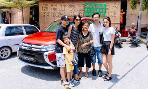 Amber Chia Family Trip With Outlander | Mitsubishi Motors Malaysia