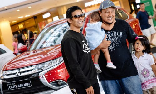 All New Outlander with Noh and Fans | Mitsubishi Motors Malaysia